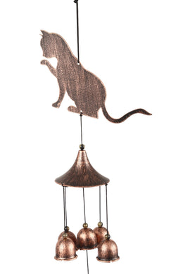 Iron Cat Paw Wind Chime