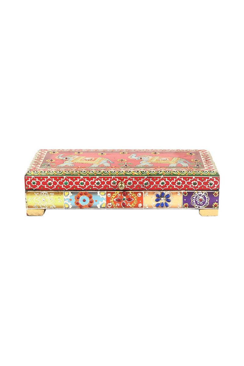 Embossed Painted Box