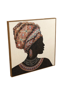 Woman with Jewels Canvas Print