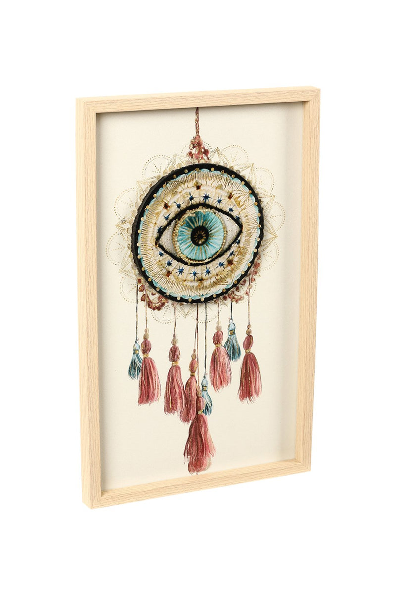 Third Eye Dream Catcher Art Print