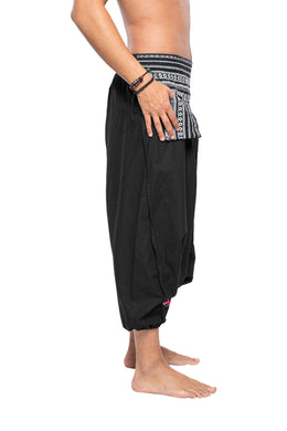 Striped Pocket Harem Pants