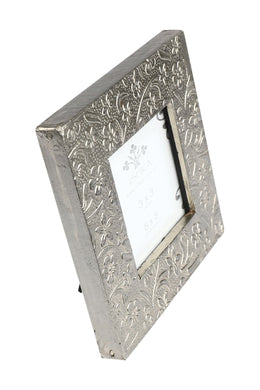Floral Metal Photo Frame