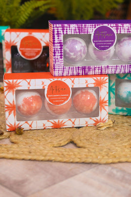 Set of 3 Artisan Bath Bombs