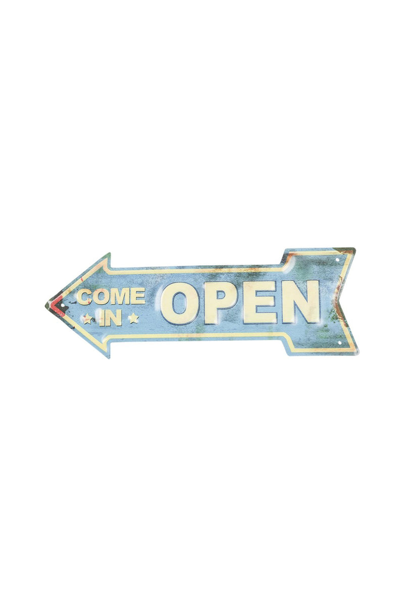 Come In Open Sign