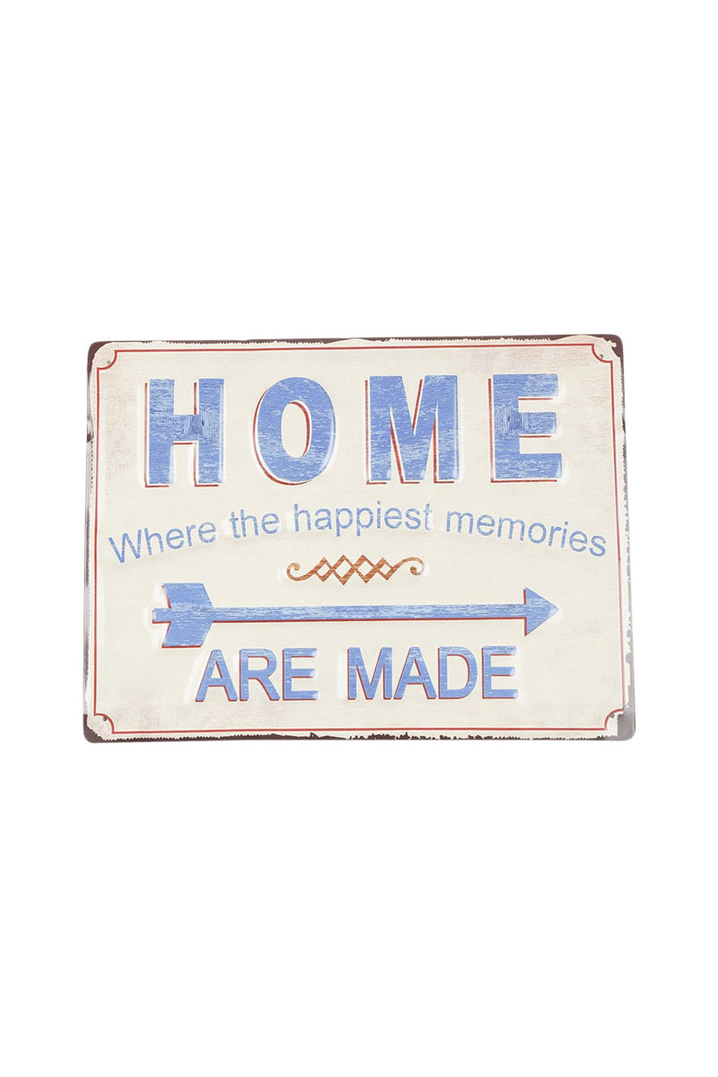 Memories Iron Wall Hanging