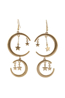 Boho Moon & Stars Earrings