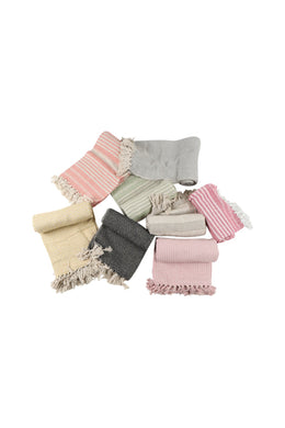 Assorted Multicolour Cotton Throw