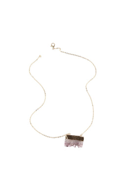 Raw Gemstone Shard Necklace