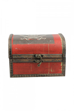 Small Pirate Treasure Chest Box