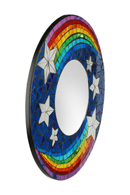 Round Shooting Star Mirror