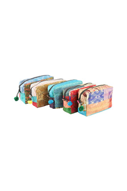 Assorted Kantha Pouch Bag