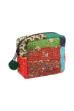 Assorted Small Kantha Pouch Bag