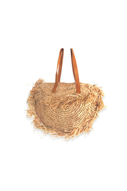 Grass Fringed Handbag