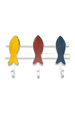 Colourful Fish Door Hook Rack