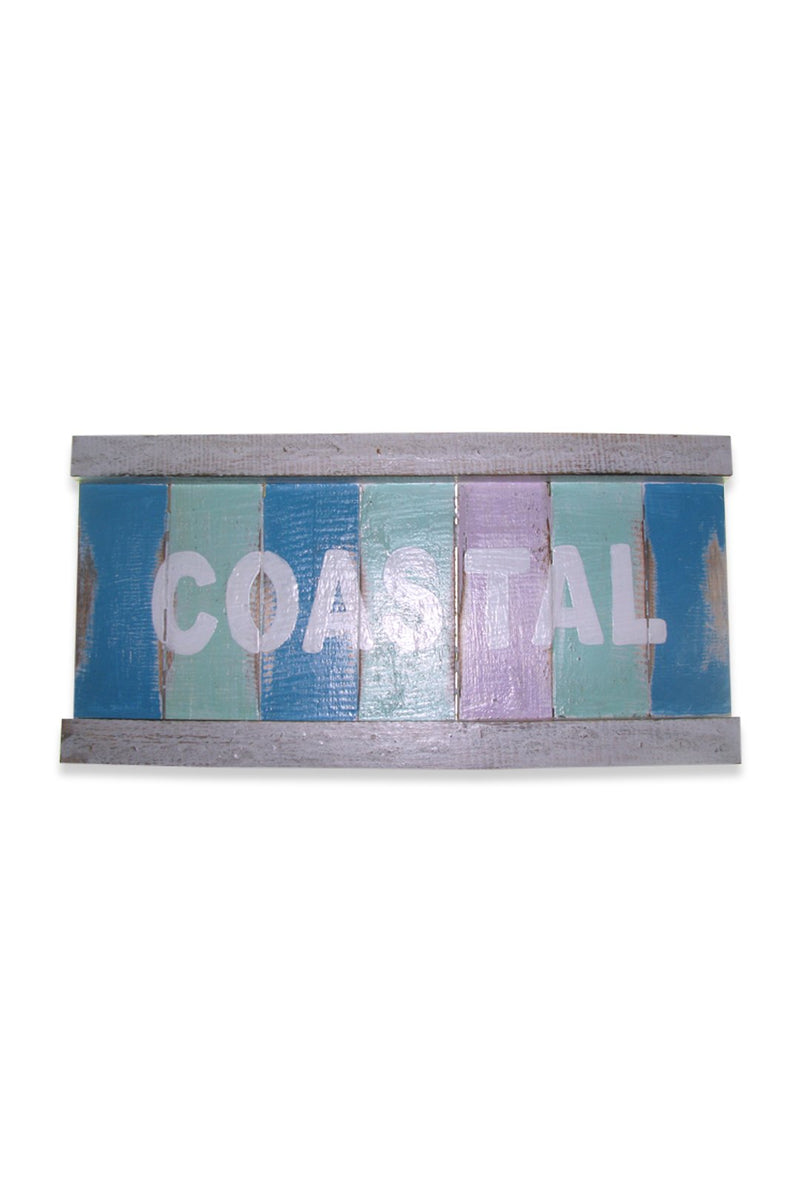 Coastal Wooden Sign