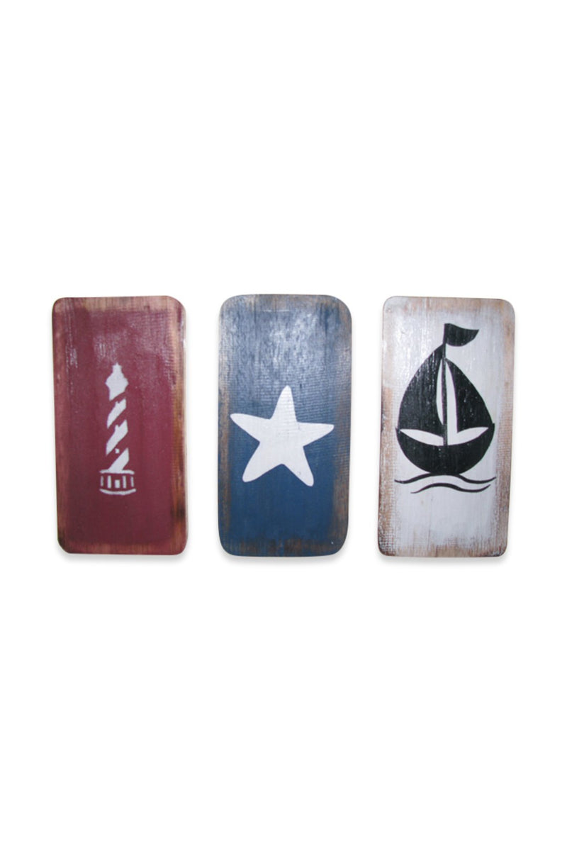 Star Boat Lighthouse Wall Hanging