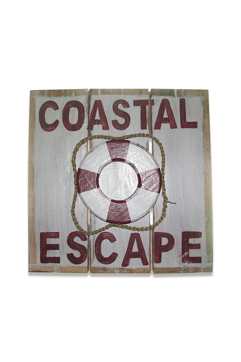 Coastal Escape Sign