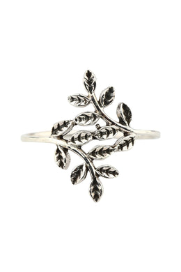 Vine Silver Wrap Ring