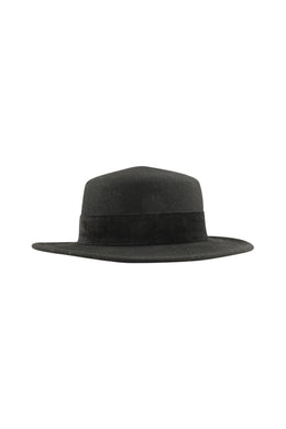 Wool Felt Flat Top Hat