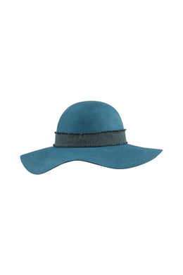 Wide Brim Floppy Felt Hat