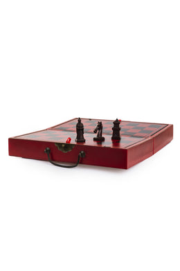 Chess Set Travel Box Qing Army