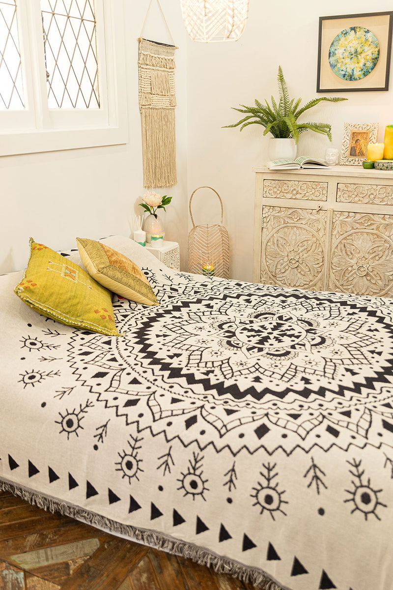 Jacquard Cotton Bedspread
