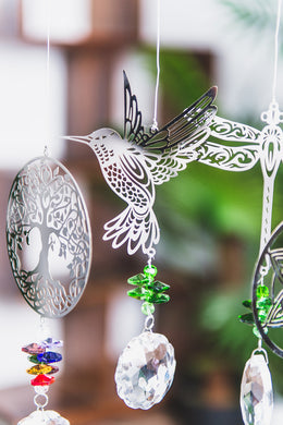 Suncatcher Mobile 47cm Humming Bird