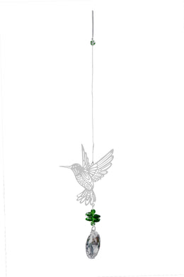 Beaded Sun Catcher - Humming Bird