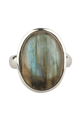 Assorted Labradorite Everyday Silver Ring