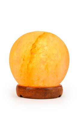 Sphere Natural Salt Lamp