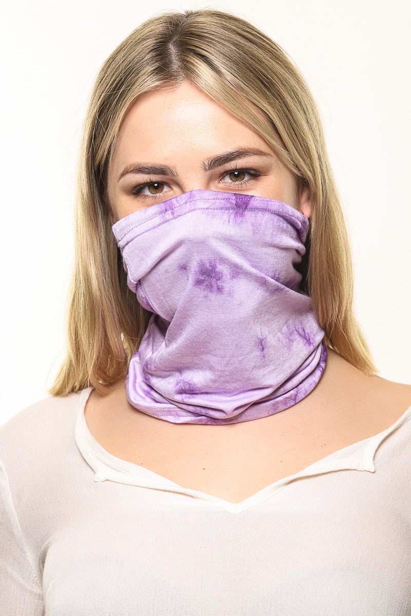 Pack of 2 Tie-Dye Tube Face Masks
