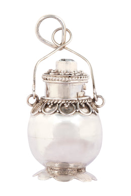 Assorted Simple Silver Perfume Pendant