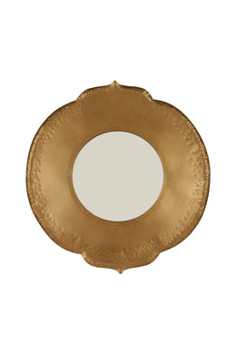 Moroccan Metal Gold Mirror