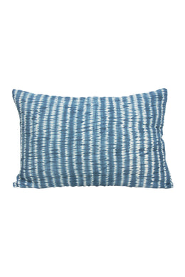 Quilted Blue Tigerlily Pillowcase