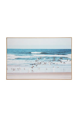 Seagulls Canvas Wall Art