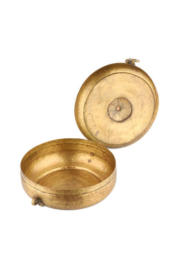 Antique Brass Chapati Box