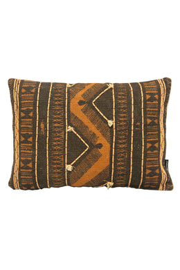 Adder Rust Black Cushion