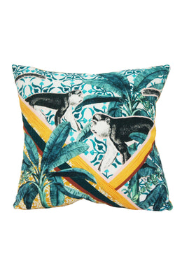 Jungle Monkey Cushion