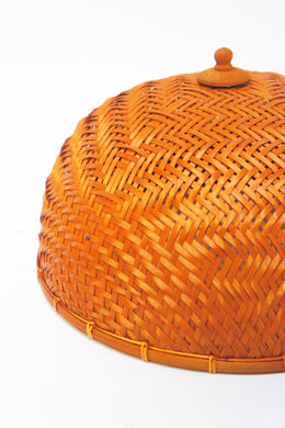 Woven Bamboo Food Cover