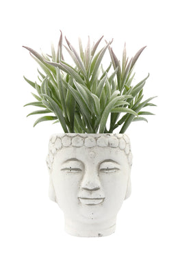 Artificial Succulent Buddha Head Plant Pot