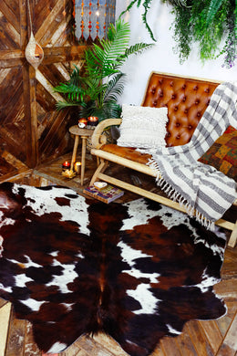 Rug Cow Hide Assorted Colour