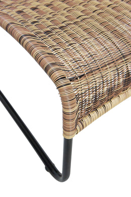 Natural Brown Rattan Outdoor Chair