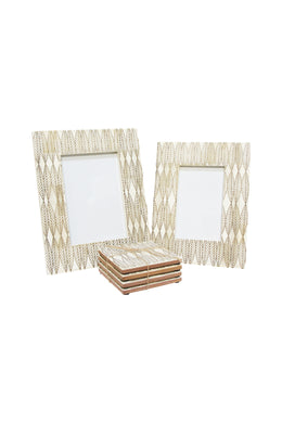 Multi Leaf Bone Frame with Bone Lining - Small