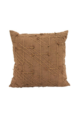 Dewi Dori Warm Rust Cushion - Large