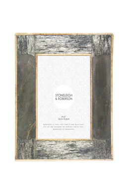 Black & Silver Slate Frame - Small