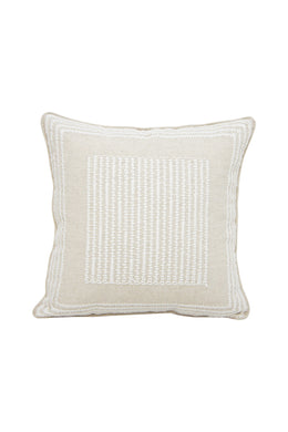 Alpaca Cushion Cahya with Embroidered Detail