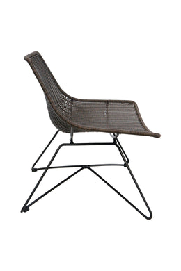 Brown Rattan Outdoor Chair