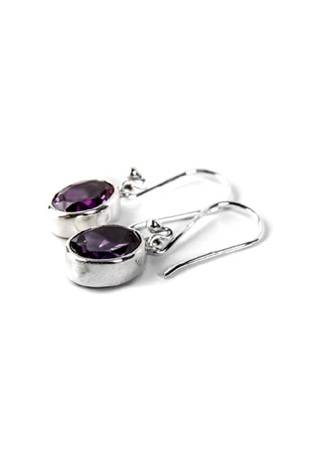 Alexandrite Oval Earrings