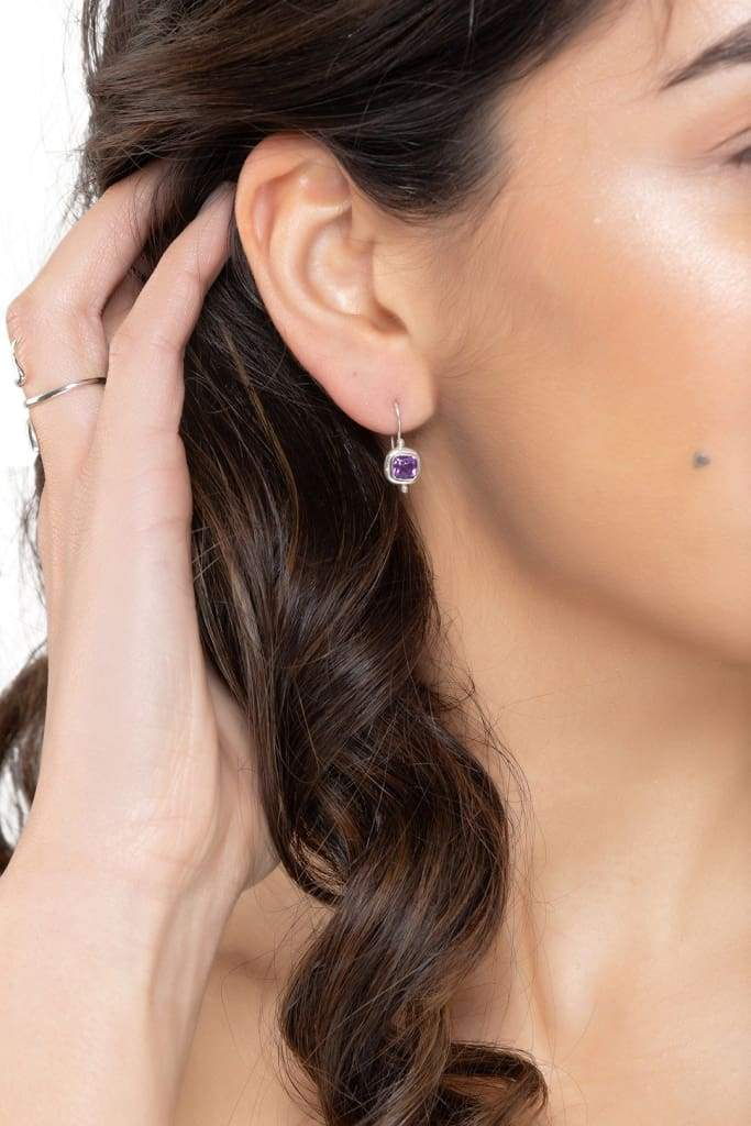 Amethyst Dainty Earrings