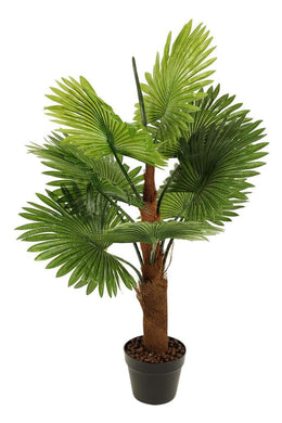 Artificial Fan Palm Pot Plant
